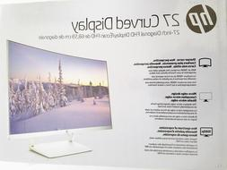 """HP 27"""" Curved LED Computer, Gaming, Monitor, # Z4N74AA#ABA,"""
