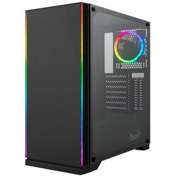 Rosewill ATX Mid Tower Gaming PC Computer Case with RGB Fan