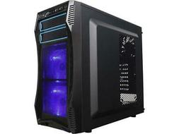 Rosewill Challenger S Computer Case - Mid-tower - Black - St