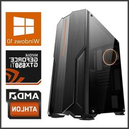 Gaming Computer Desktop PC Tower 3.8GHz Quad Core,16GB,1TB,R
