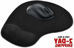 Gaming Mouse Gel Pad Wrist Rest Pain Ergonomic Support Comfo