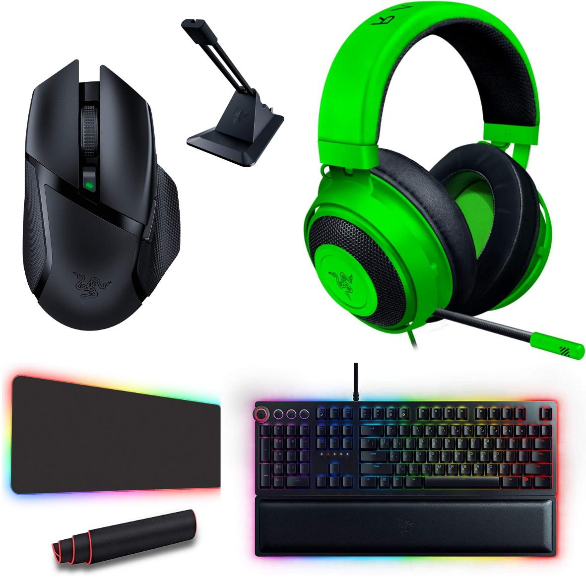 computer accessories gaming bundle mouse keyboard headset