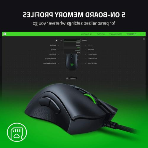 Gaming Mouse Fastest Computer Grip Programmable