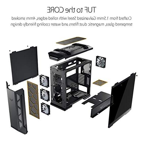 Asus Gaming Mid-Tower Computer Case for EATX Motherboards