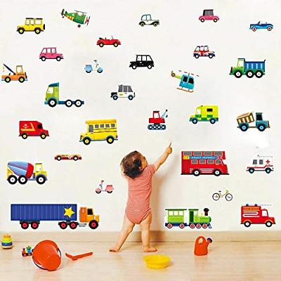 Transports Kids Wall Wall Decals Peel Stick Removable