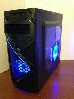 NEW Gaming PC Desktop Computer AMD QUAD CORE 4.1 GHz 500GB 8