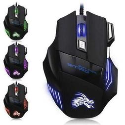 usb wired 3200 dpi gaming mouse